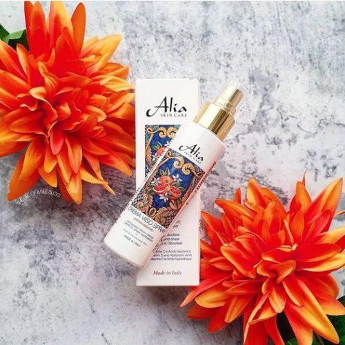 Idratante Antiossidante Lenitiva: la Crema viso spray Alia skin care per la tua pelle sensibile!